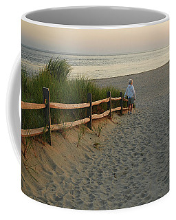 Path To The Sea Coffee Mug
