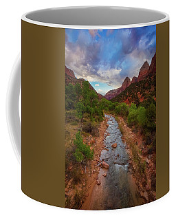 Coffee Mug featuring the photograph Path To Zion by Darren White