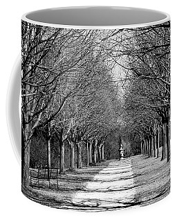 Pathway Through Trees Coffee Mug