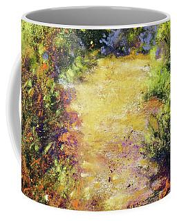 Pathway Textures Coffee Mug by Rae Andrews