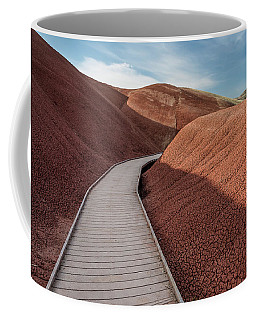 Coffee Mug featuring the photograph Pathway Through The Reds by Greg Nyquist