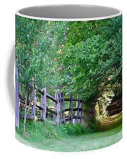 Pathway To A Sunny Summer Morning  Coffee Mug