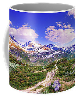 Pathway To A Valley Coffee Mug