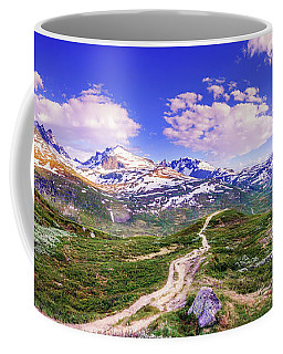 Coffee Mug featuring the photograph Pathway To A Valley by Dmytro Korol