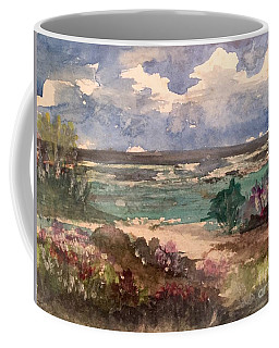 Pathway To The Shore Coffee Mug