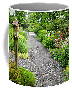 Pathways In A Summer Garden Coffee Mug