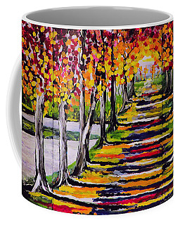 Pathyway To The Light - Landscape Coffee Mug