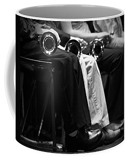Coffee Mug featuring the photograph Patiently Waiting... by Trish Mistric