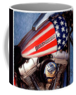 Live To Ride Coffee Mug by Colleen Taylor