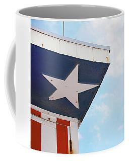 Patriotic Lifeguard Tower Coffee Mug