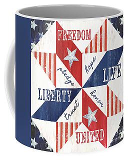 Patriotic Quilt 1 Coffee Mug