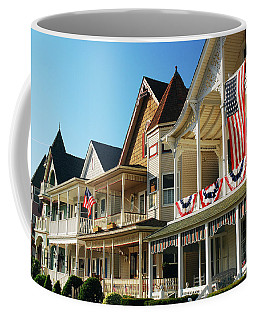 Patriotic Showing Coffee Mug by James Kirkikis