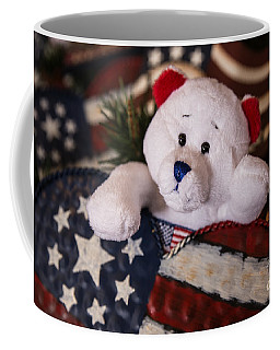 Patriotic Teddy Bear Coffee Mug