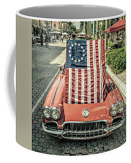 Patriotic Vette Coffee Mug