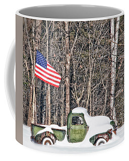 Patriotic Winter Coffee Mug