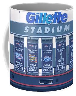 Patriots Championship Banners Coffee Mug