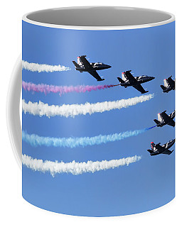 Patriots Jet Team In Flight Coffee Mug
