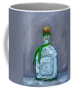 Patron Silver Tequila Bottle Man Cave  Coffee Mug