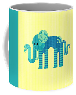 Pattern Elephant Coffee Mug