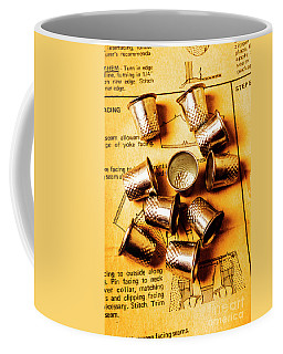 Patterns And Thimbles Coffee Mug