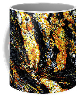 Coffee Mug featuring the photograph Patterns In Stone - 185 by Paul W Faust - Impressions of Light