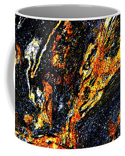 Coffee Mug featuring the photograph Patterns In Stone - 187 by Paul W Faust - Impressions of Light