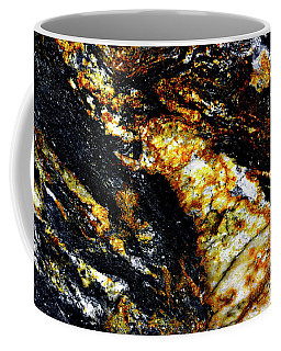 Coffee Mug featuring the photograph Patterns In Stone - 190 by Paul W Faust - Impressions of Light