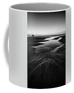 Coffee Mug featuring the photograph Patterns In The Sand by Jon Glaser