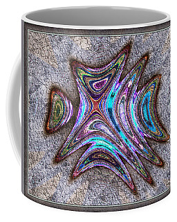 Paua Medallion Coffee Mug