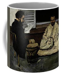 Paul Alexis Reading A Manuscript To Zola Coffee Mug