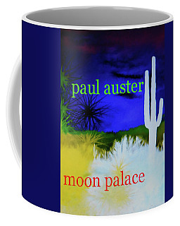 Paul Auster Poster Moon Palace Coffee Mug