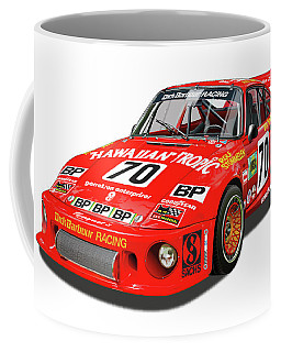Paul Newman Porsche 935 Coffee Mug