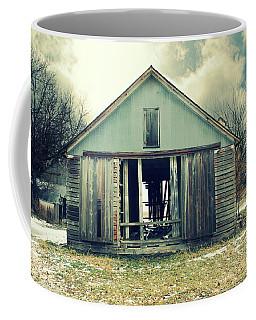 Coffee Mug featuring the photograph Paulsons Crib by Julie Hamilton