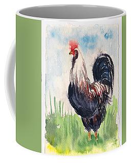Paunchy Rooster Coffee Mug