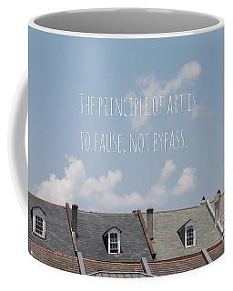 Pause, Not Bypass Coffee Mug