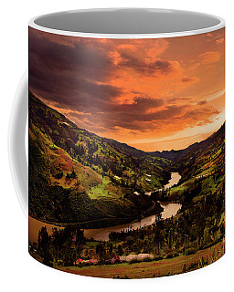 Paute River II Coffee Mug by Al Bourassa