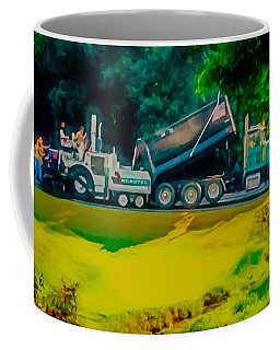 Paving Crew 2 Coffee Mug by Lanjee Chee
