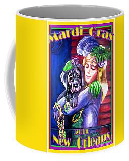 Pawdi Gras Coffee Mug
