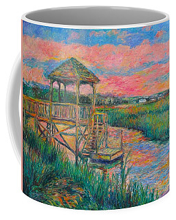 Coffee Mug featuring the painting Pawleys Island Atmosphere Stage Two by Kendall Kessler