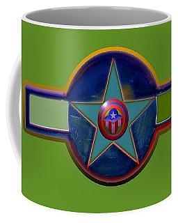 Coffee Mug featuring the digital art Pax Americana Decal by Charles Stuart