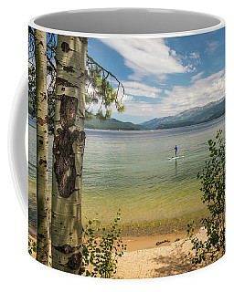 Coffee Mug featuring the photograph Payette Lake by Mark Mille