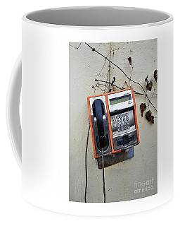 Payphone Still Life Coffee Mug