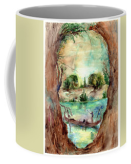 Paysage With A Boat Coffee Mug