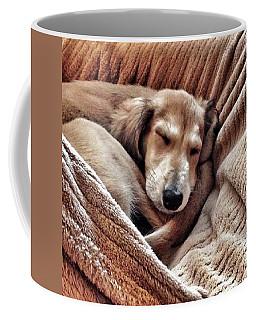 Peace At Last #saluki Coffee Mug
