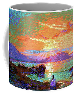 Peace Be Still Meditation Coffee Mug