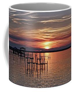 Peace Be With You Sunset Coffee Mug