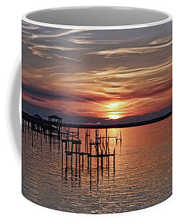 Peace Be With You Sunset Coffee Mug