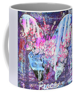 Peace Butterfly Coffee Mug