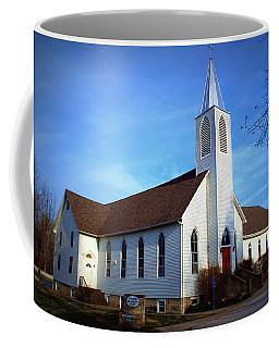 Peace Church Coffee Mug