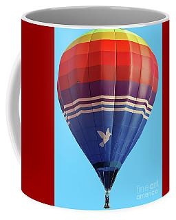 Peace Dove Hot Air Balloon Coffee Mug